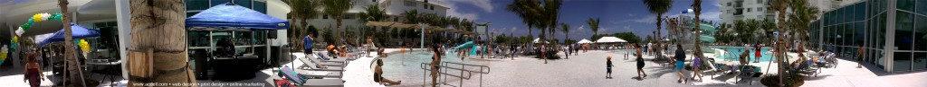 Surfside Community Center Opening day