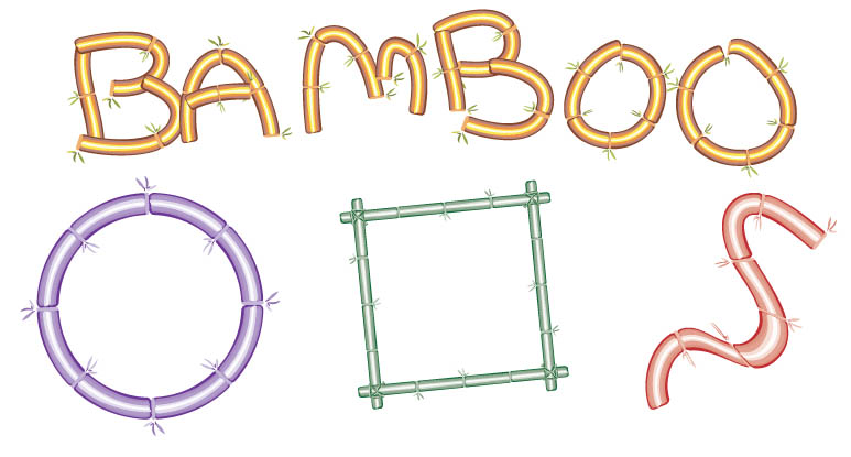 Bamboo Illustrator Brush