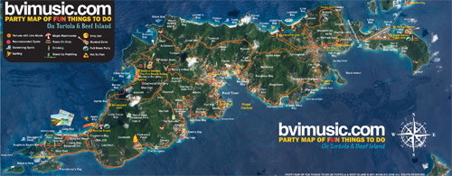 The BVI Party Map of Fun Things to Do